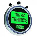 time-for-training-message-shows-coaching-and-instructing-100144869
