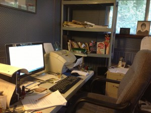 My office mess